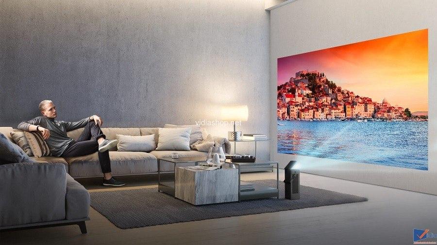 LG Sẽ Ra Mắt Máy Chiếu 4K UHD Tại CES 2018 – LG HU80KA