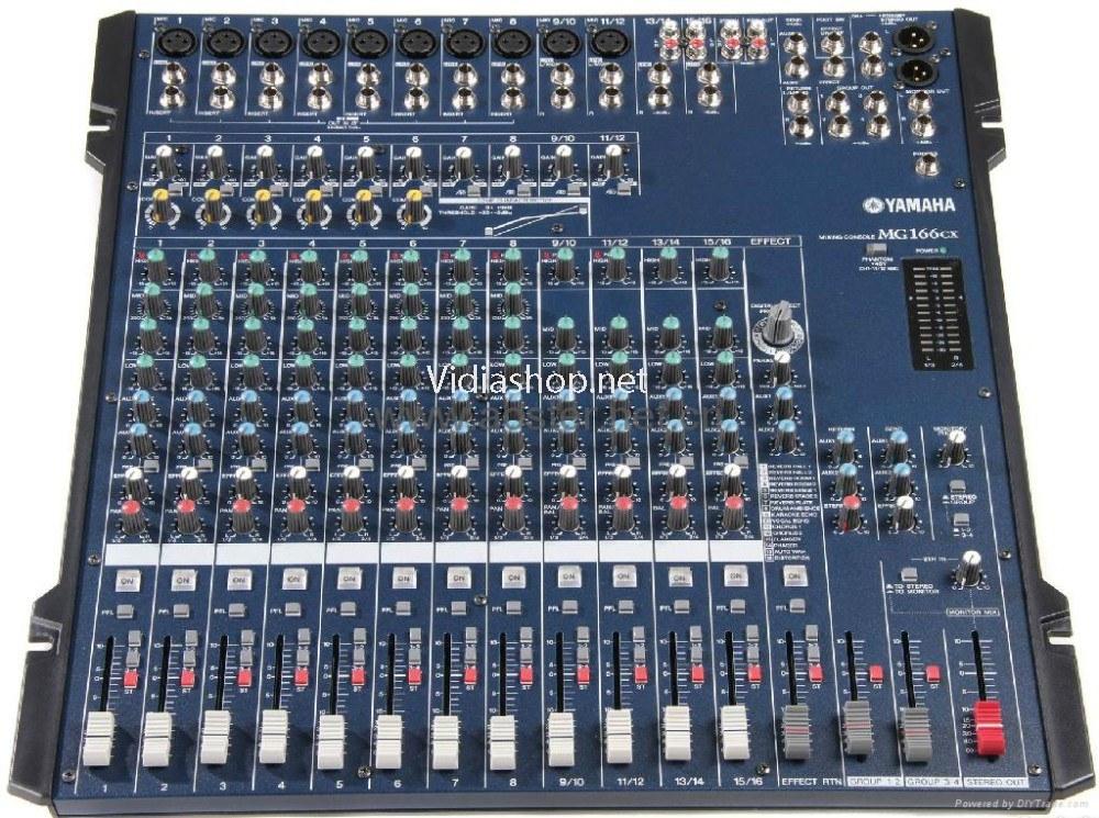 Review Mixer Yamaha MG166CX-USB Mixer Bàn Dành Cho Âm Thanh Sân Khấu