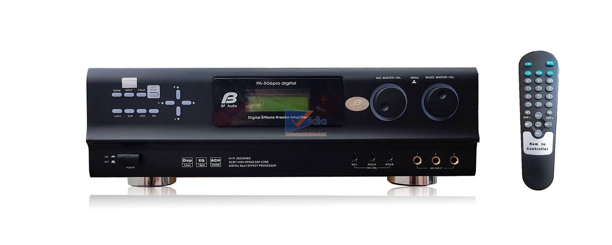 [REVIEW]  Amply Kỹ Thuật Số Bfaudio PA-506 Pro digital