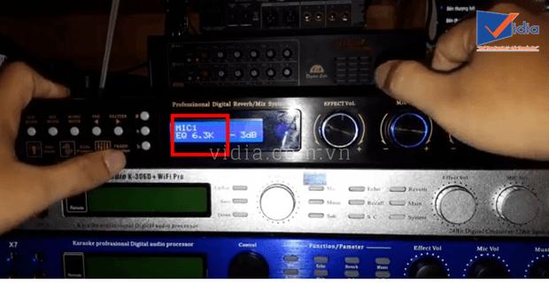 chỉnh mixer digital