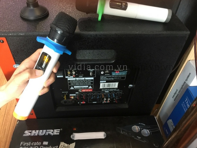 Hướng dẫn sử dụng và tùy chỉnh micro không dây trên loa kéo Acnos KB41