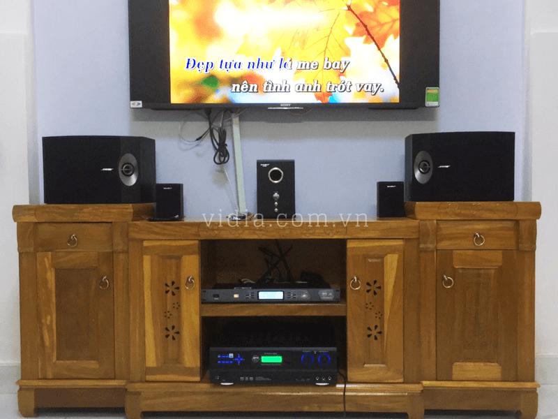 Tham Khảo Dàn Karaoke Chất Lượng Tại Gia Đình Anh Phúc- Hóc Môn
