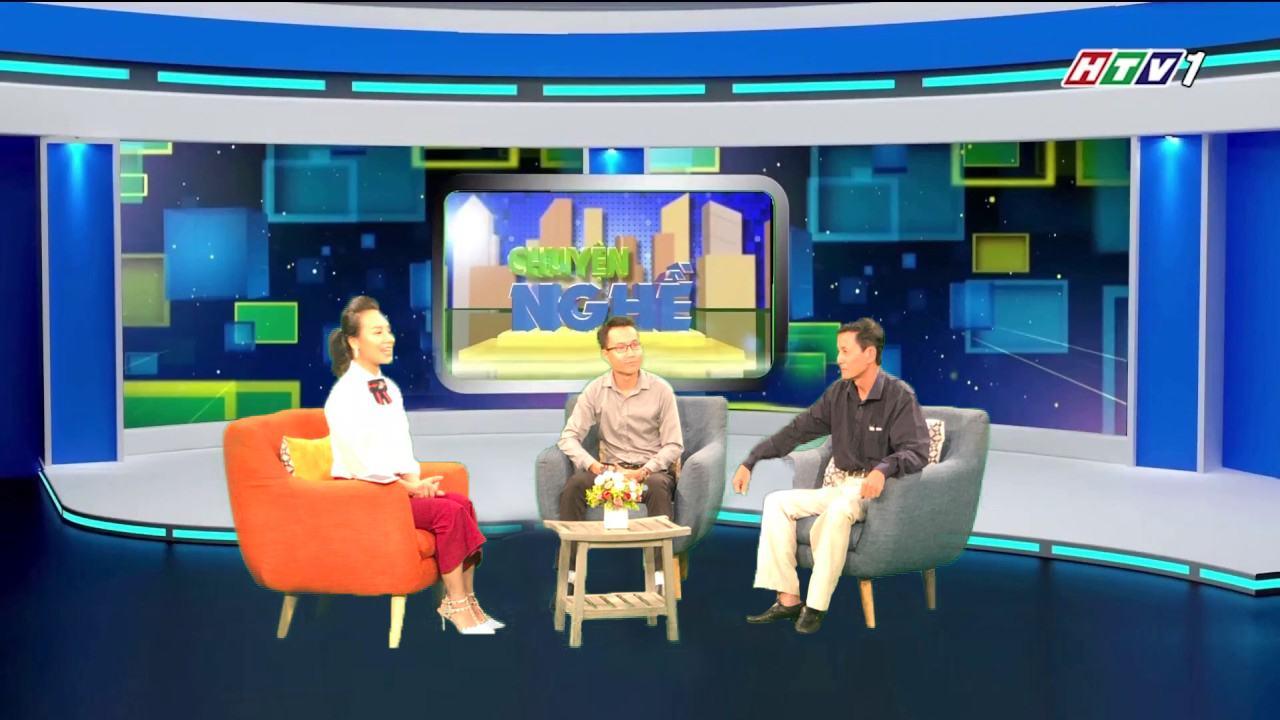 Vidia Tham Dự Talk Show Chuyện Nghề Trên Kênh HTV1
