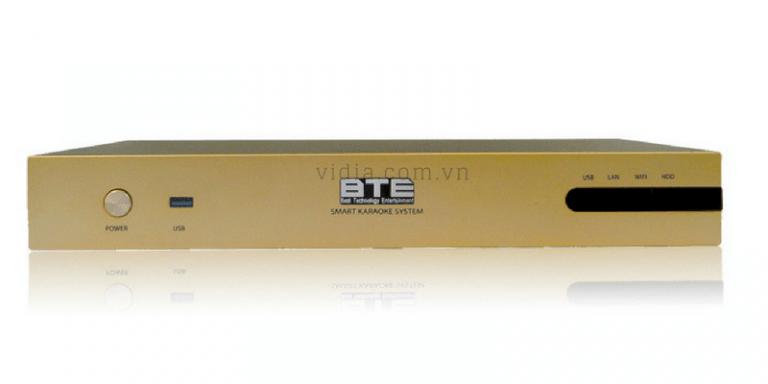 Mặt trước đầu Karaoke BTE S650