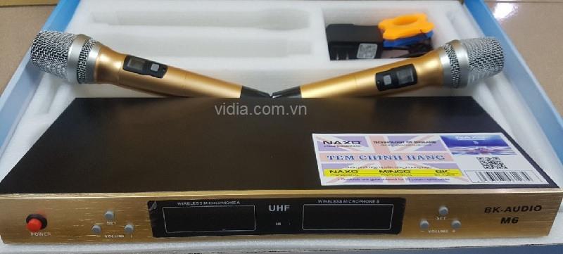 Micro không dây BK audio M6