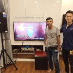 Lắp Dàn Karaoke Hay Test Ngay Tại Chỗ Cho Nóng