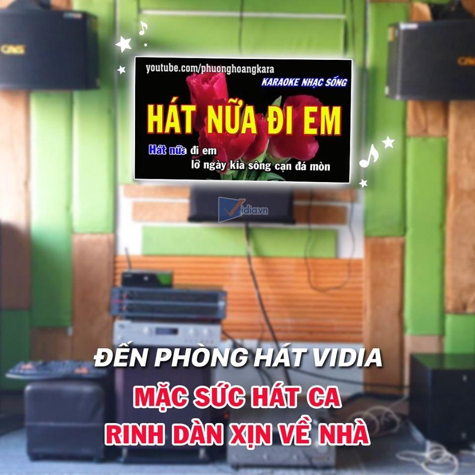 Phòng Karaoke VIP Của Vidia – Nơi Có Dàn Karaoke Hay Nhất
